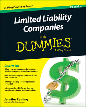 Limited Liability Companies For Dummies michael griffis economic indicators for dummies