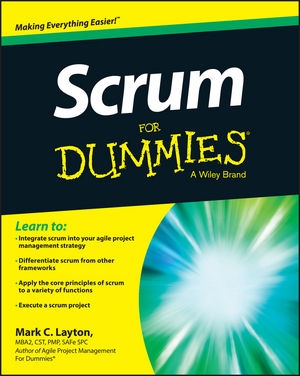Scrum For Dummies cynthia dionisio snyder project 2016 for dummies