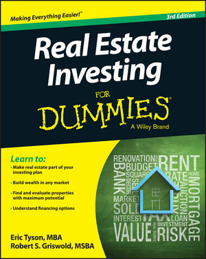 Real Estate Investing For Dummies gary grabel wealth opportunities in commercial real estate management financing and marketing of investment properties