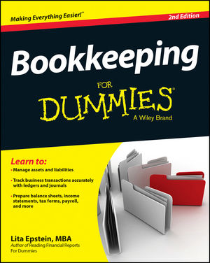 Bookkeeping For Dummies купить
