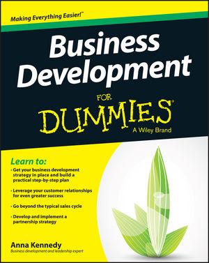 Business Development For Dummies elaine biech training and development for dummies