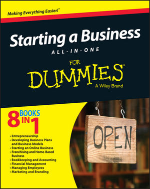 "Starting a Business All??""In??""One For Dummies"