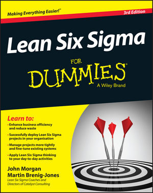 Lean Six Sigma For Dummies george eckes six sigma team dynamics the elusive key to project success