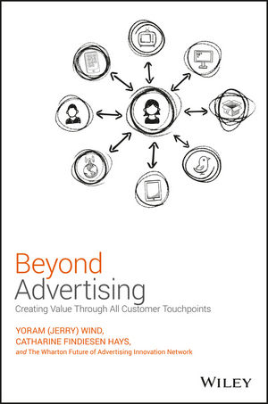 Beyond Advertising: Creating Value Through All Customer Touchpoints david booth display advertising an hour a day