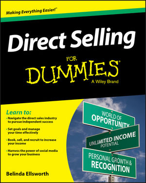 Direct Selling For Dummies belinda ellsworth direct selling for dummies
