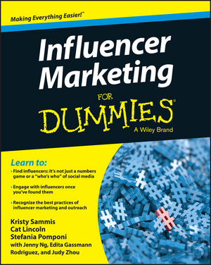 Influencer Marketing For Dummies professionalising media who needs a degree to get low pay
