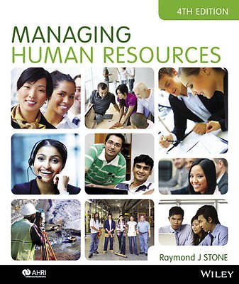 Managing Human Resources 4E iStudy Version 1 Registration Card managing budgets