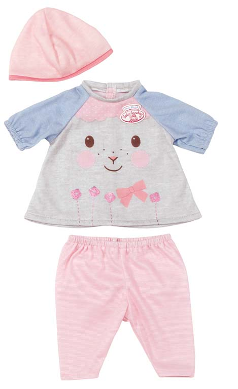 Baby Annabell Комплект одежды для My First Baby Annabell 36 см baby girls clothing sets cute my first christmas tree rompers deer pants hats 3pcs 2017 autumn cartoon boys clothes outfits set