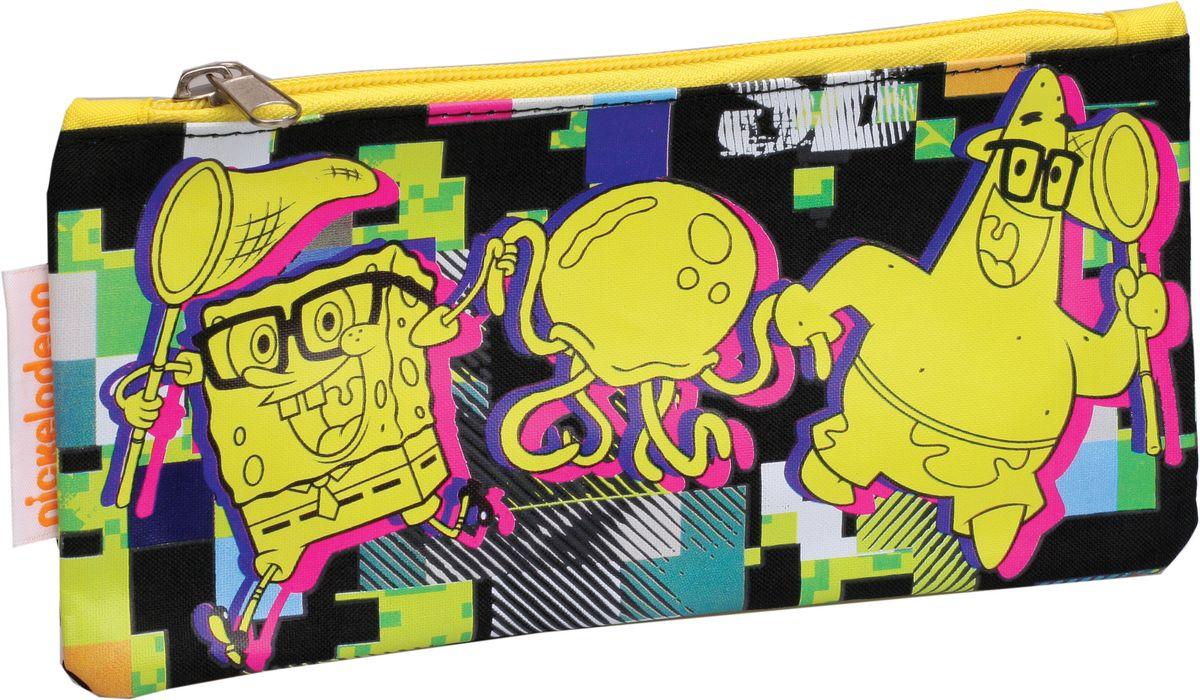 Centrum Пенал Sponge Bob 8730587305Пенал Centrum Sponge Bob станет не только практичным, но и стильным школьным аксессуаром. Он выполнен из прочного полиэстера и закрывается на застежку-молнию. Состоит из одного вместительного отделения, в котором без труда поместятся канцелярские принадлежности. Пенал оформлен красочным изображением героев мультсериала Sponge Bob Патриком и самим Губкой Бобом. Такой пенал станет незаменимым помощником для школьника. С ним ручки и карандаши всегда будут под рукой и больше не потеряются, а изображение любимых героев обязательно поднимет настроение!