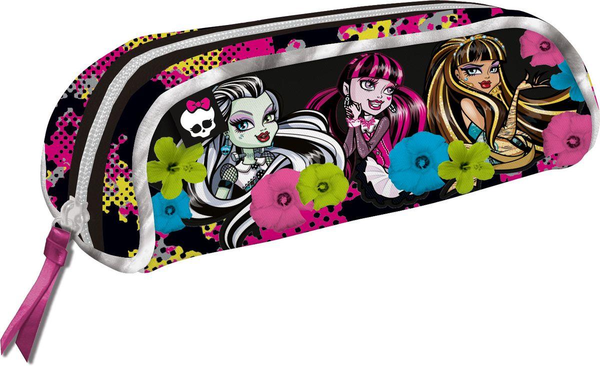 Seventeen Пенал Monster HighMHDB-UT1-439Пенал Seventeen Monster High станет не только практичным, но и стильным школьным аксессуаром для девочек.Пенал очень вместительный и с ярким дизайном. Состоит из одного отделения на молнии, в котором без труда поместятся канцелярские принадлежности.Такой пенал станет незаменимым помощником для школьника, с ним ручки и карандаши всегда будут под рукой и больше не потеряются.