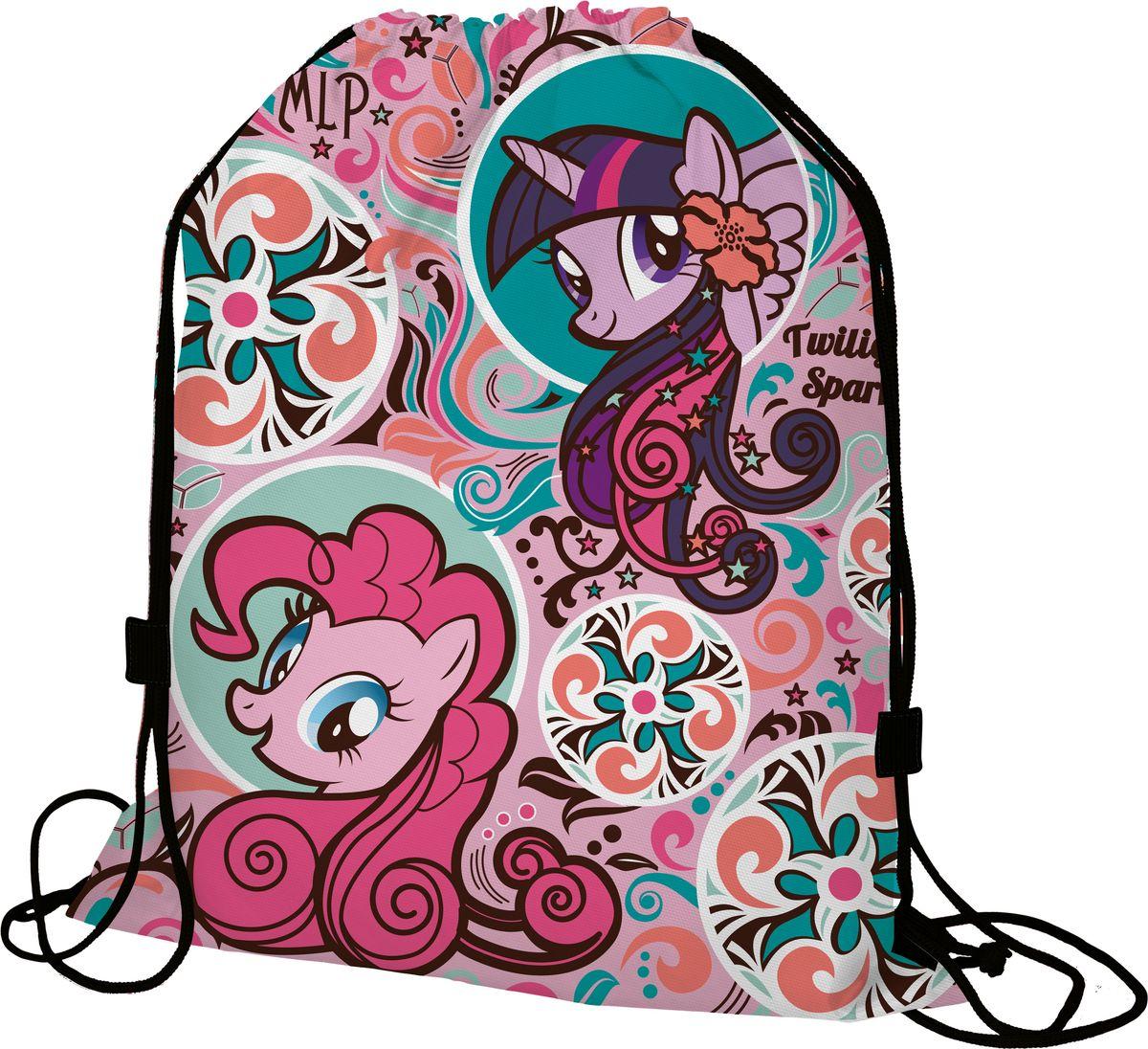 My Little Pony Мешок для обувиMPDB-MT1-883Мешок для переноски обуви My Little Pony выполнен из плотного водостойкого материала, затягивается сверху шнуром-кулиской. Можно носить как рюкзак.