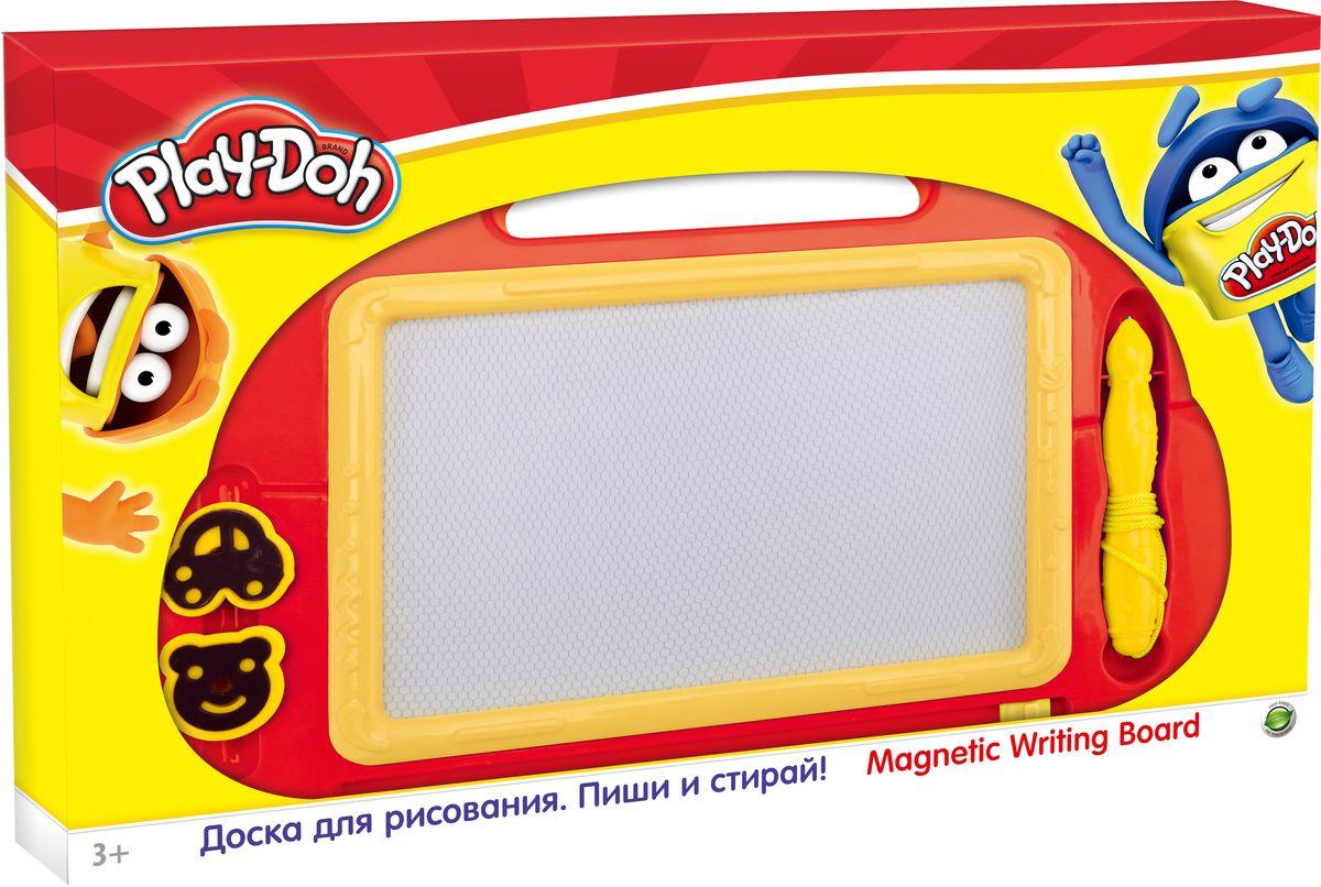 Play Doh Доска магнитнаяPDDB-US1-PNT01-BRDДоска магнитная для рисования Play Doh предназначена для занятий творчеством.Процесс рисования будет осуществляться с помощью магнитного карандаша. Стереть рисунок можно будет легко и быстро с помощью маленького бегунка внизу доски. Корпус игрушки изготовлен из пластика и окрашен в яркий веселый цвет.Магнитная доска отлично подойдет для игр и учебы. Доска для рисования станет для вашего ребенка незаменимым помощником в его творческих начинаниях.