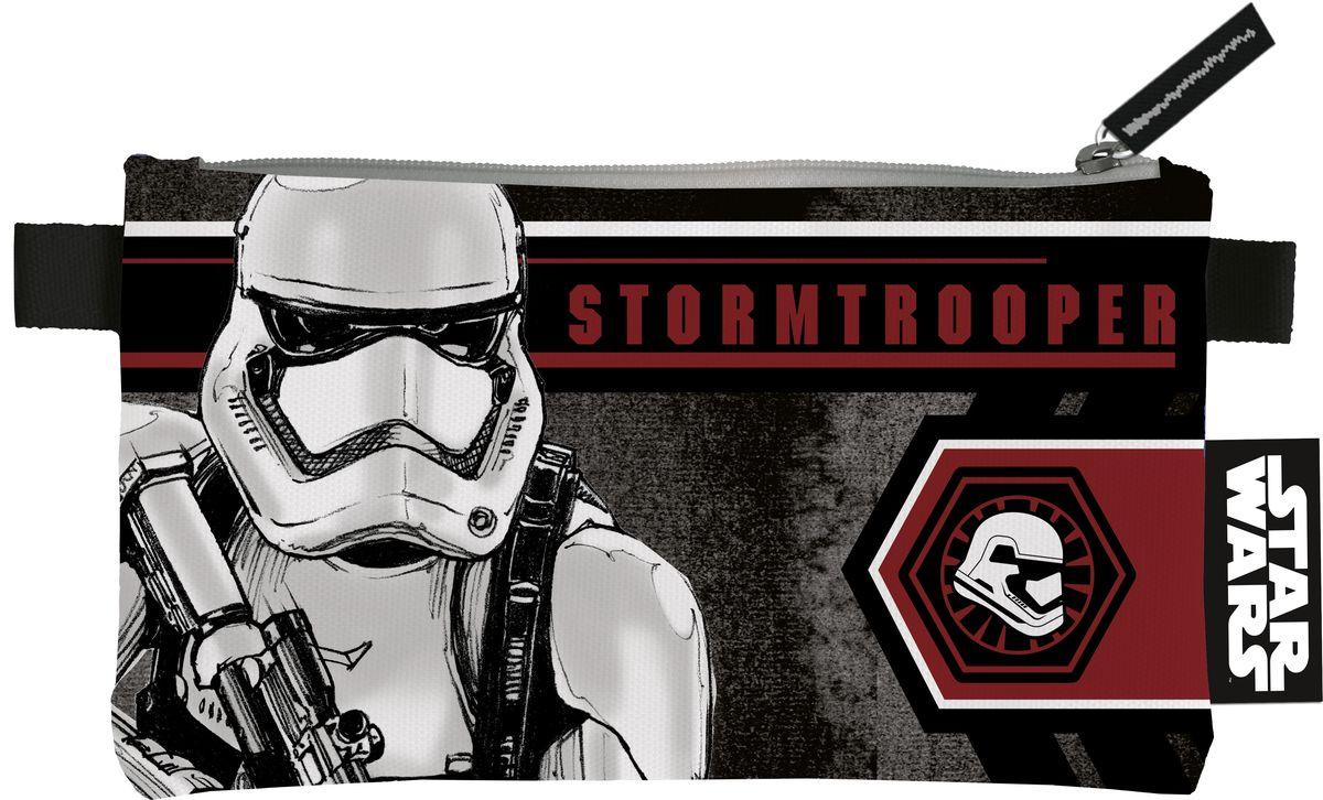 Star Wars Пенал StormtrooperSWDB-MT1-455Стильный пенал Star Wars Stormtrooper станет для ребенка незаменимым спутником в школе.Модель на застежке-молнии отличается оригинальным дизайном и хорошим качеством используемых материалов. Выполнен из высокопрочного полиэстера и содержит одно отделение. Имеется тесемочная петля для удобства переноса. Оригинальный принт непременно понравится поклоннику Star Wars.