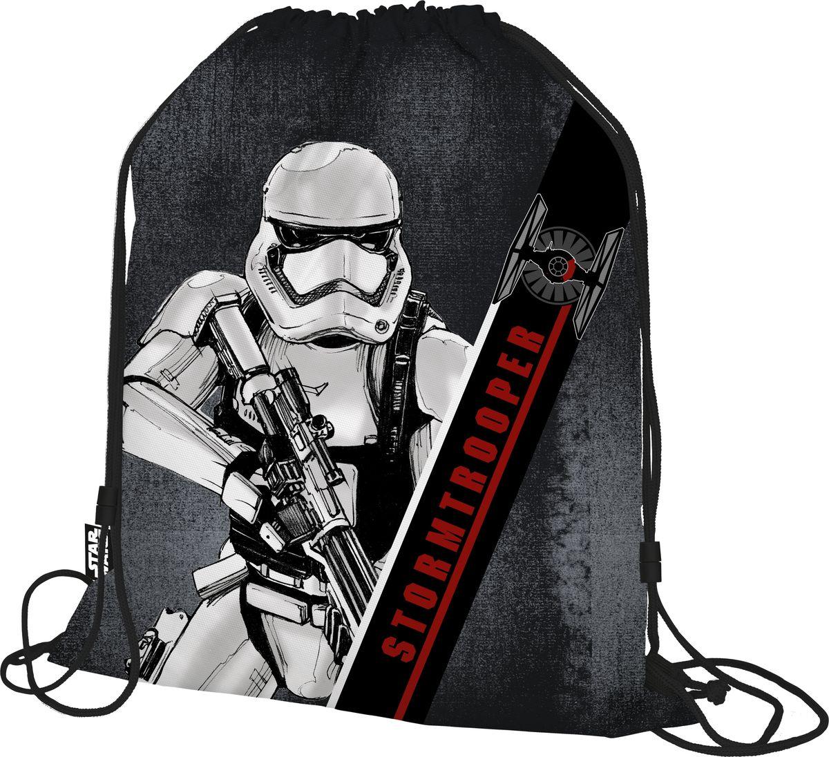 Star Wars Мешок для обуви Star WarsSWDB-MT1-883Мешок для переноски обуви, выполнен из плотного водостойкого материала, затягивается сверху шнуром-лямкой и носится, как рюкзак. Размер: 43 х 34 х 1 см.
