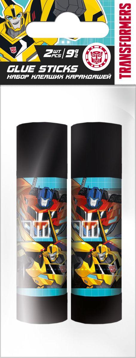 Transformers Клей на основе ПВА 2 штTRDB-US1-9G-H2Клей-карандаши Transformers на основе ПВА, для склеивания бумаги и картона.