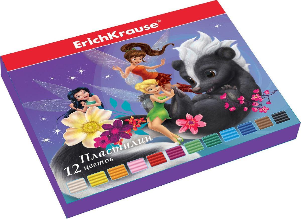 Disney Пластилин Феи 12 цветов37993Набор цветного пластилина Disney Феи предназначен для лепки и развития творческих способностей ребенка. В набор входят 12 брусков разных цветов. Цветовая палитра классического пластилина содержит яркие насыщенные цвета, которые хорошо смешиваются между собой. Пластилин сохраняет свою форму, не застывает на воздухе. Производится на основе безопасных компонентов. В комплект входит пластиковый стек.