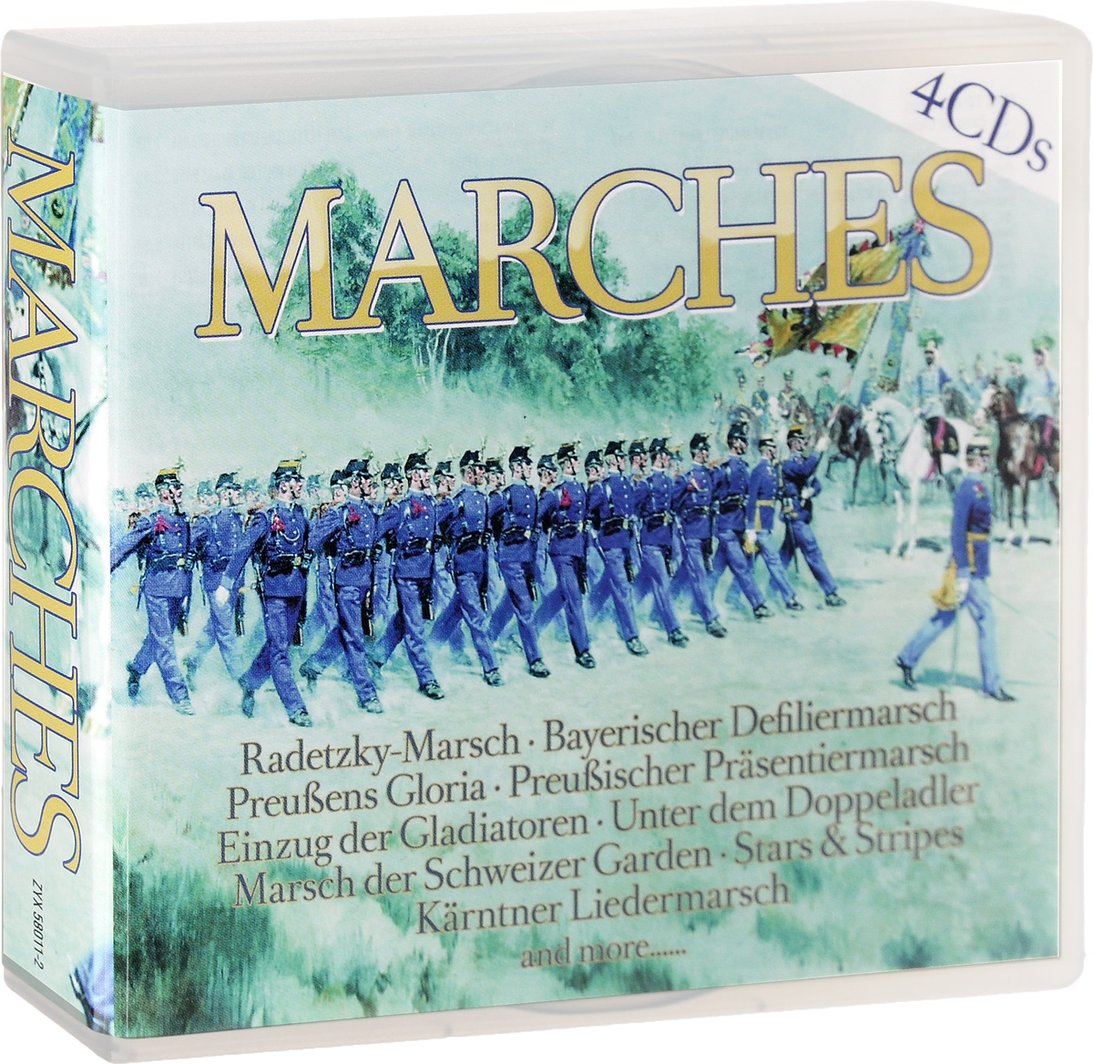 Zakazat.ru Marches (4 CD)