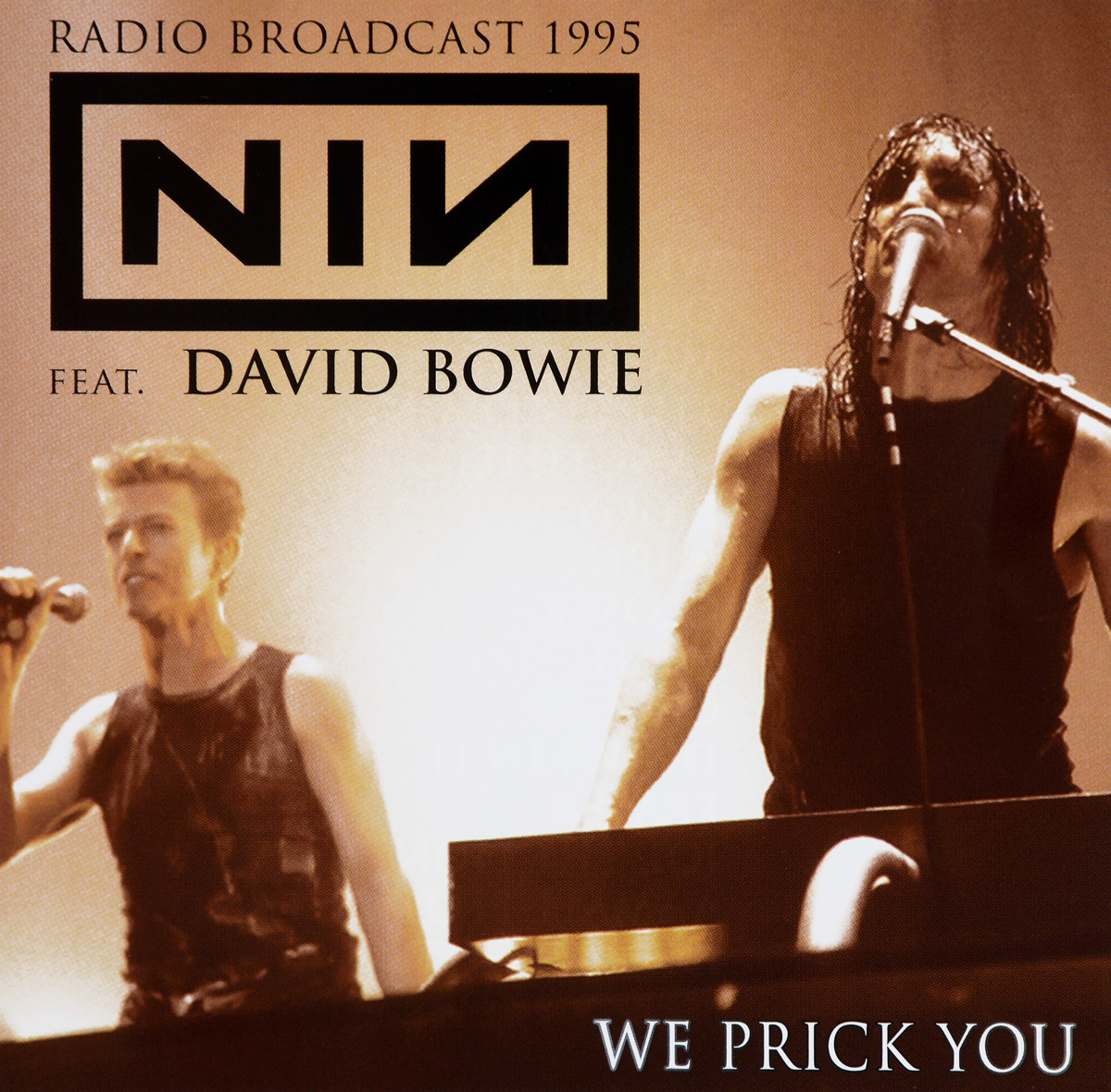 Nine Inch Nails,Дэвид Боуи Nine Inch Nails. David Bowie. We Prick You new 7 inch
