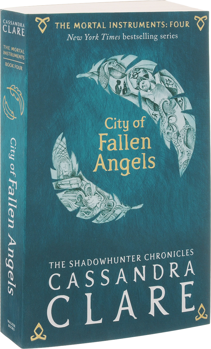 The Mortal Instruments: Book 4: City of Fallen Angels цепочка с подвеской the mortal instruments city of bones necklace mi001