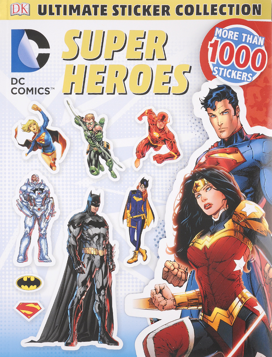 Ultimate Sticker Collection: Super Heroes: More Than 1000 Stickers ultimate sticker books dog