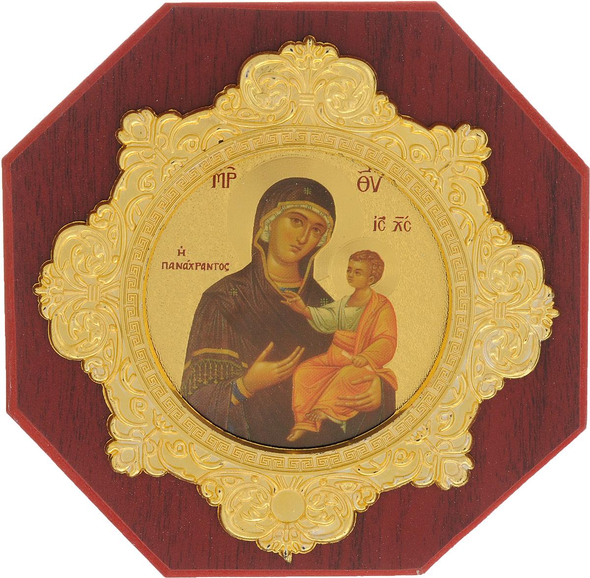 Икона в рамке Sima-land Пресвятая Богородица, 14 х 14 см икона янтарная почаевская богородица