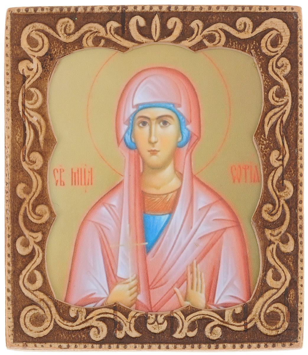 Икона Sima-land Святая мученица София, 6 х 6,5 см икона святой никита