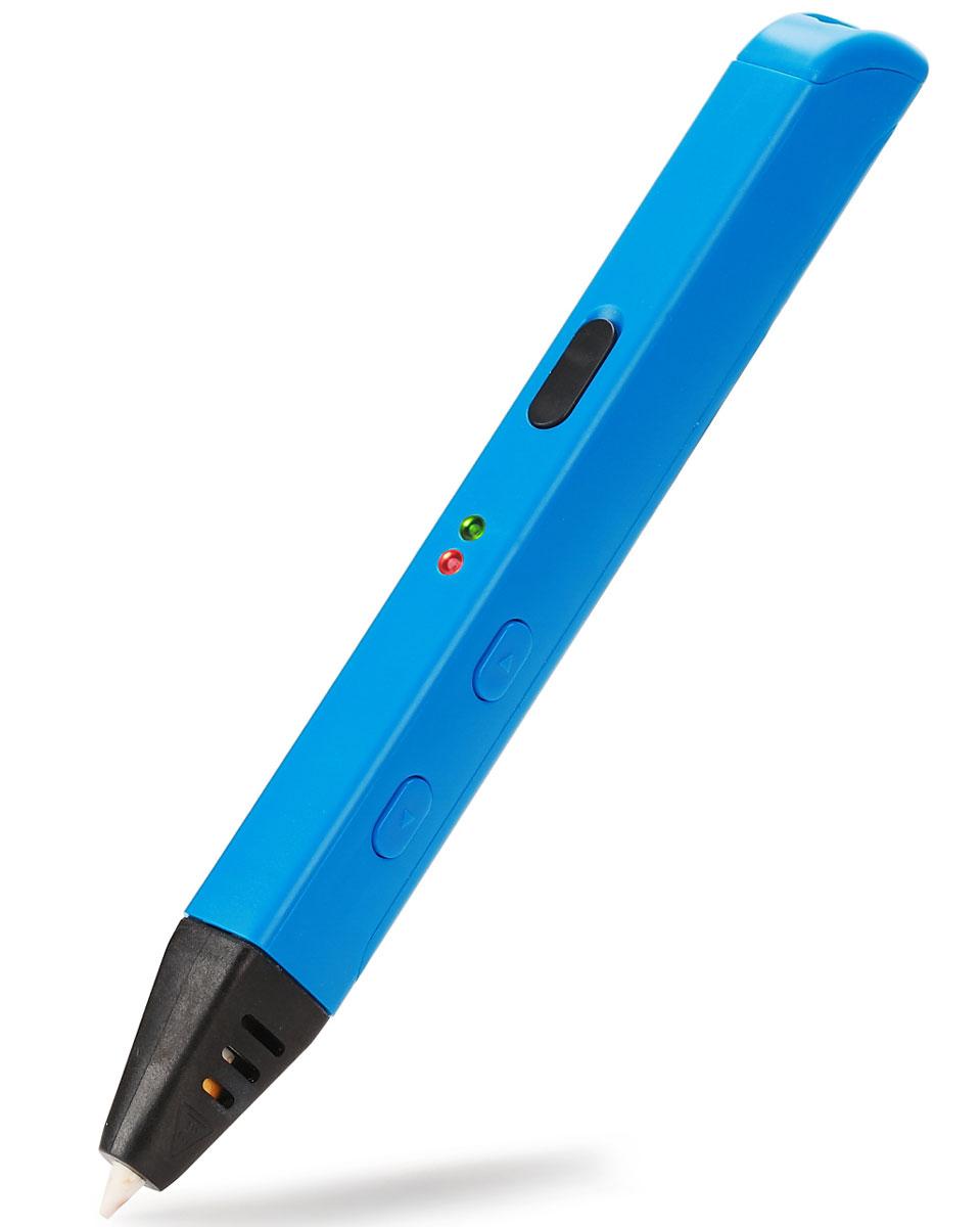 Myriwell RP600A, Light Blue 3D ручкаRP600ABРучкой Myriwell RP600A очень приятно работать, ее дизайн и удобство по достоинству оценят творческие люди. Основными функциональными кнопками пользоваться удобно, они достаточно крупные. Само же устройство адаптировано для работы как левшей, так и правшей, и, конечно, работать комфортно и под указательный, и под большой палец. 3D-ручка Myriwell RP600A наделена функцией, именуемой в 3D принтерах RETRACT. Как только прекращается подача пластика, мотор тянет обратно ниточку лишнего пластика, и теперь он не вытекает из сопла. Больше не придется удалять излишек материала и качество изделия не пострадает!3D-ручка MyriwellRP600A успешно работает и от USB-устройств, и от сети, только необходимо учитывать силу тока, которая должна соответствовать 2 Амперам, в противном случае ручка хоть и включится, но нагреваться не будет.Для изменения рабочей температуры 3D-ручки RP600A, нужно снять серую резиновую заглушку и отрегулировать температуру. Повернув регулятор по часовой или против часовой стрелки, вы увеличиваете или уменьшаете температуру соответственно.Технология печати: FDM\FFFДиаметр сопла: 0,6 ммДиаметр нити: 1,75 ммРабочая температура экструдера: 130-240°ССтруйный или лазерный принтер: какой лучше? Статья OZON Гид