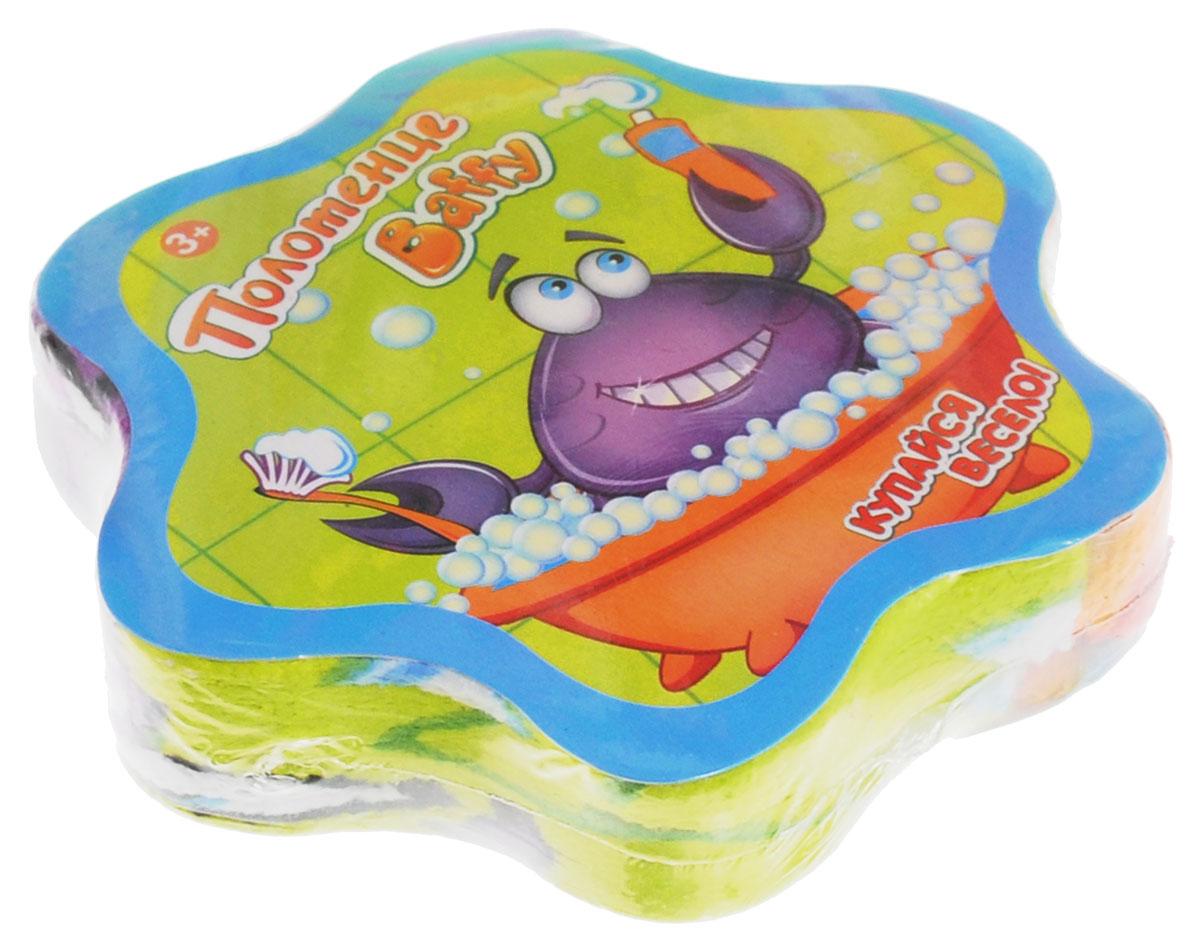 Baffy Полотенце махровое прессованное цвет фиолетовый 30 х 30 смD0110_фиолетовыйЯркое и веселое полотенце Baffy станет незаменимым помощником вашему ребенку после водных процедур!Снимите пленку и намочите полотенце водой, подождите 1 минуту и полотенце примет свою первоначальную форму. Высушите полотенце и используйте по назначению.Полотенце изготовлено из 100 % хлопка. Размер полотенца - 30 см х 30 см.Уход: Стирка в теплой воде при максимальной температуре 40 °С, гладить при низкой температуре (до 110 °С), не отбеливать, не подвергать химчистке, сушить при низкой температуре.