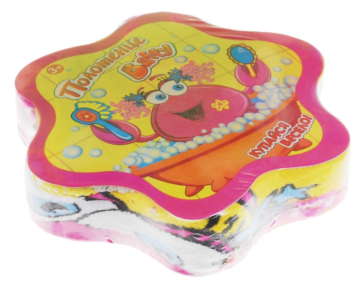 Baffy Полотенце махровое пресованное цвет розовый 30 х 30 см