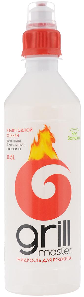 Жидкость для розжига Grill Master, 500 мл66650207Жидкость Grill Master предназначена для розжига древесного угля, дров и брикетов на открытом воздухе. При поджоге дает ровное спокойное горение, без вспышек.Способ применения: 1. Равномерно полить жидкостью уголь, дрова.2. Дать впитаться.3. Аккуратно разжечь.Меры предосторожности:Беречь от детей. Избегать попадания в глаза и на кожу. Хранить вдали от открытого огня, прямых лучей солнца и нагревательных приборов.Состав: деароматизированные жидкие парафины.