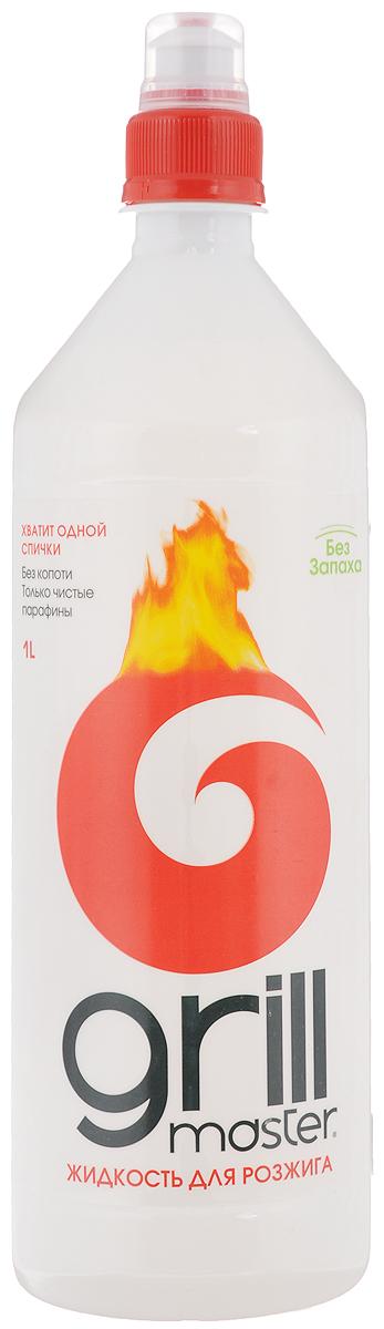 Жидкость для розжига Grill Master, 1 л66650801Жидкость Grill Master предназначена для розжига древесного угля, дров и брикетов на открытом воздухе. При поджоге дает ровное спокойное горение, без вспышек.Способ применения: 1. Равномерно полить жидкостью уголь, дрова.2. Дать впитаться.3. Аккуратно разжечь.Меры предосторожности:Беречь от детей. Избегать попадания в глаза и на кожу. Хранить вдали от открытого огня, прямых лучей солнца и нагревательных приборов.Состав: деароматизированные жидкие парафины.