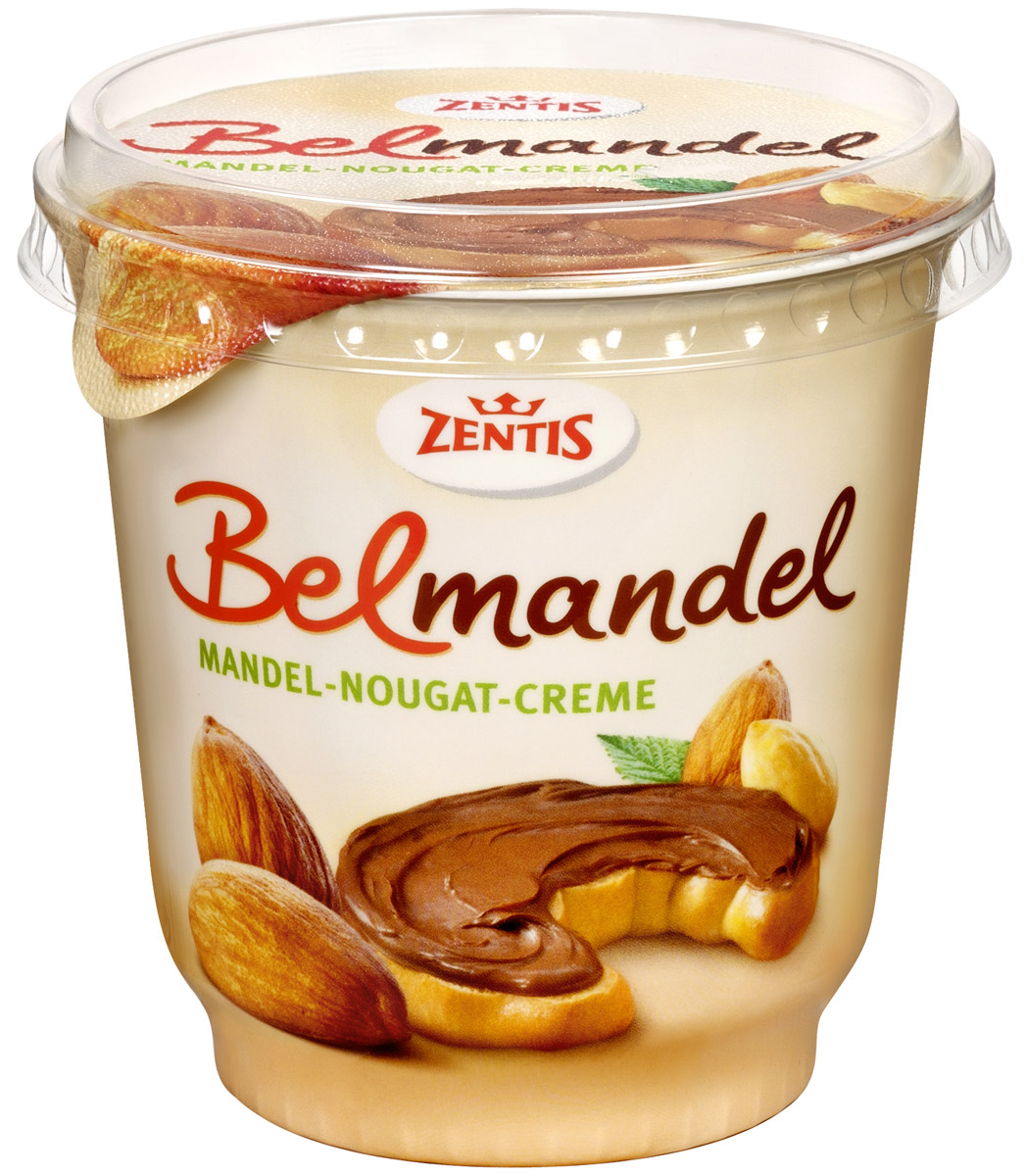 Zentis Belmandel шоколадная паста с миндалем и какао, 400 г naturaliber паста шоколадная с абрикосом 225 г