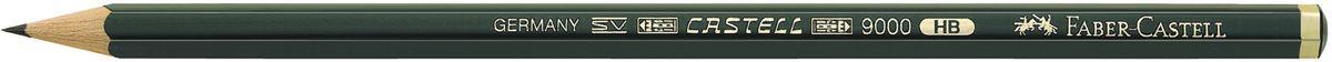 Faber-Castell Карандаш чернографитный Castell 9000 твердость HB119000Faber-Castell Castell 9000 - шестигранный графитный карандаш наивысшего качества с долголетней традицией. Пригоден не только для письма, но и для эскизов и рисования. Покрыт лаком на водной основе в интересах защиты окружающей среды. Специальная SV технология вклеивания грифеля предотвращает его поломку при падении. Высокое качество мягкой древесины обеспечивает легкое затачивание.