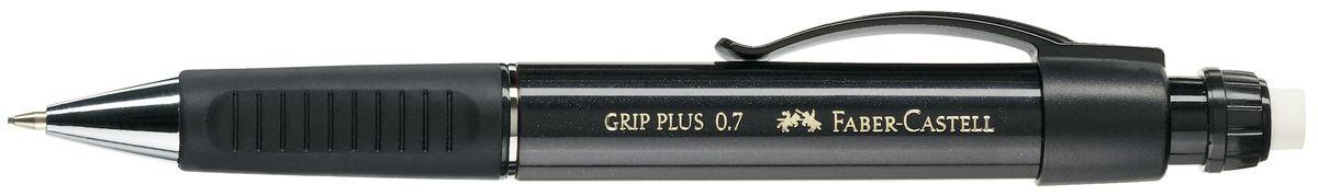 Faber-Castell Карандаш механический Grip Plus цвет корпуса черный 130733130733Механический карандаш Faber-Castell Grip Plus - незаменимый атрибут современного делового человека дома и в офисе.Корпус карандаша круглой формы с металлическим наконечником выполнен из высококачественного пластика. Дополнен корпус удобным пластиковым держателем, трехгранной резиновой областью захвата и толстым выдвижным ластиком. Карандаш оснащен инновационной системой, предотвращающей поломку грифеля.Убирающийся внутрь кончик обеспечивает безопасное ношение карандаша в кармане.Порадуйте друзей и знакомых, оказав им столь стильный знак внимания.