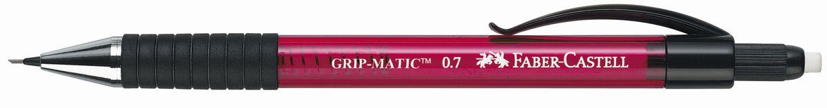 Faber-Castell Карандаш механический Grip-Matic цвет корпуса красный 137721137721Механический карандаш Faber-Castell Grip-Matic - незаменимый атрибут современного делового человека дома и в офисе.Корпус карандаша круглой формы выполнен из высококачественного пластика и дополнен резиновой областью захвата и длинным выдвижным ластиком. Карандаш оснащен инновационной системой, позволяющей грифелю выдвигаться в зависимости от письма в оптимальном объеме.Мягкое комфортное письмо и тонкие линии при написании принесут вам максимум удовольствия. Порадуйте друзей и знакомых, оказав им столь стильный знак внимания.