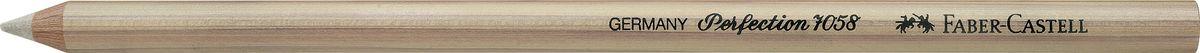 Faber-Castell Корректор-карандаш Perfection 7058185812Корректирующий карандаш Faber-Castell Perfection отлично подойдет для точного стирания мелких деталей.Белый твердый корректор легкосправляется со следами туши и чернил.Правильный подбор корректора и, разумеется, его качество имеетрешающее значение для достижения нужного результата.