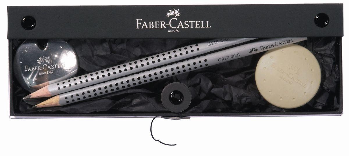 Faber-Castell Канцелярский набор UFO 4 предмета -  Канцелярские наборы