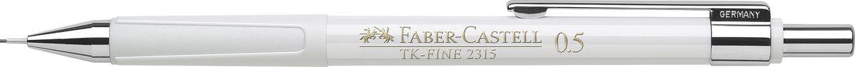 Faber-Castell Карандаш механический TK-Fine цвет корпуса белый 231501231501Механический карандаш Faber-Castell TK-Fine идеален для письма и черчения.Корпус карандаша круглой формы выполнен из высококачественного пластика. Убирающийся внутрь кончик обеспечивает безопасное ношение карандаша в кармане.Отличительная особенность - качественный ластик и 3 запасных грифеля HB.Мягкое комфортное письмо и тонкие линии при написании принесут вам максимум удовольствия. Порадуйте друзей и знакомых, оказав им столь стильный знак внимания.