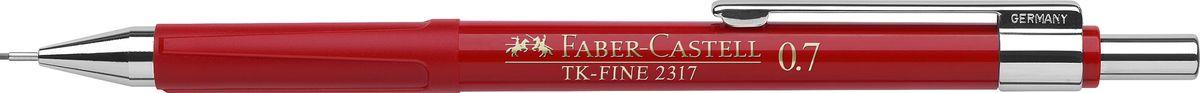 Faber-Castell Карандаш механический TK-Fine цвет корпуса красный 231721231721Механический карандаш Faber-Castell TK-Fine идеален для письма и черчения.Корпус карандаша круглой формы выполнен из высококачественного пластика. Убирающийся внутрь кончик обеспечивает безопасное ношение карандаша в кармане.Отличительная особенность - качественный ластик и 3 запасных грифеля HB.Мягкое комфортное письмо и тонкие линии при написании принесут вам максимум удовольствия. Порадуйте друзей и знакомых, оказав им столь стильный знак внимания.
