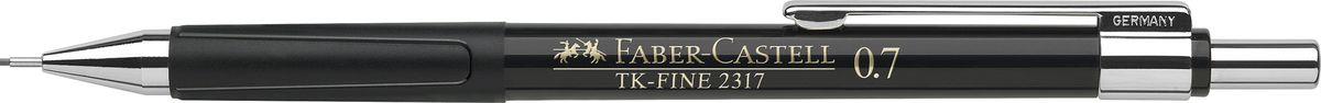 Faber-Castell Карандаш механический TK-Fine цвет корпуса черный 231799231799Механический карандаш Faber-Castell TK-Fine идеален для письма и черчения.Корпус карандаша круглой формы выполнен из высококачественного пластика. Убирающийся внутрь кончик обеспечивает безопасное ношение карандаша в кармане.Отличительная особенность - качественный ластик и 3 запасных грифеля HB.Мягкое комфортное письмо и тонкие линии при написании принесут вам максимум удовольствия. Порадуйте друзей и знакомых, оказав им столь стильный знак внимания.