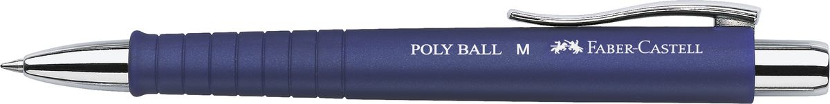 Faber-Castell Ручка шариковая Poly Ball XB синяя цвет корпуса синий