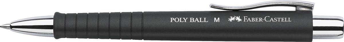 Faber-Castell Ручка шариковая Poly Ball цвет корпуса черный241199Шариковая ручка Faber-Castell Poly Ball с эргономичной трехгранной областью захвата станет незаменимым атрибутом учебы или работы. Корпус ручки выполнен из пластика; кончик, выдвижной наконечник и кнопка - из металла. Высококачественные чернила позволяют добиться идеальной плавности письма. Ручка оснащена качественным нажимным механизмом и упругим клипом для удобной фиксации на бумаге или одежде.