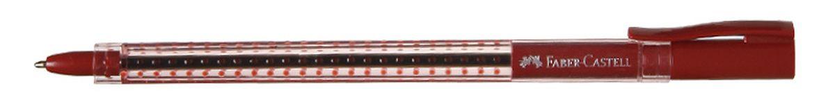 Faber-Castell Ручка шариковая Grip 2020 цвет красный544521Шариковая ручка Faber-Castell Grip 2020 эргономичной трехгранной формы станет незаменимым атрибутом учебы или работы. Прозрачный корпус ручки выполнен из пластика и соответствует цвету чернил. Запатентованная антискользящая зона захвата дополнена малыми массажными шашечками.Высококачественные чернила позволяют добиться идеальной плавности письма. Ручка оснащена упругим клипом для удобной фиксации на бумаге или одежде.