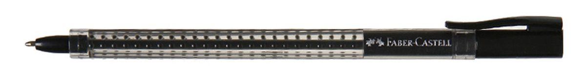 Faber-Castell Ручка шариковая Grip 2020 цвет черный544599Шариковая ручка Faber-Castell Grip 2020 эргономичной трехгранной формы станет незаменимым атрибутом учебы или работы. Прозрачный корпус ручки выполнен из пластика и соответствует цвету чернил. Запатентованная антискользящая зона захвата дополнена малыми массажными шашечками.Высококачественные чернила позволяют добиться идеальной плавности письма. Ручка оснащена упругим клипом для удобной фиксации на бумаге или одежде.