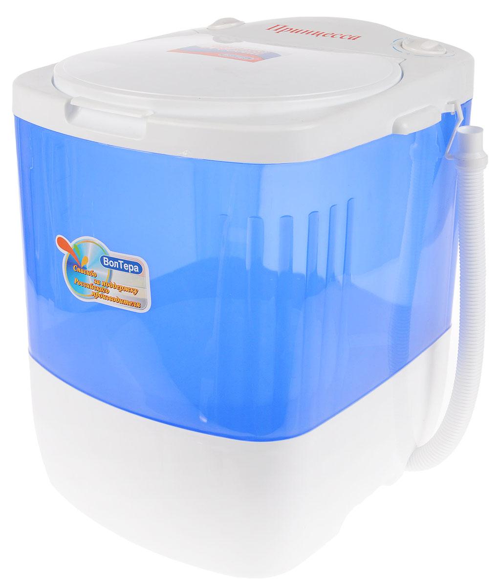 ВолТек Принцесса СМ-1, Blue стиральная машина - Стиральные машины и сушильные аппараты