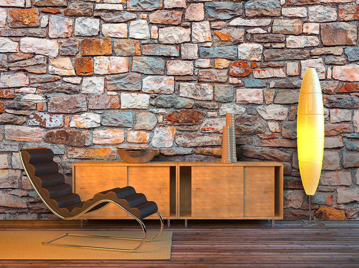 Фотообои PosterMarket Каменная стена, размер 254 х 184