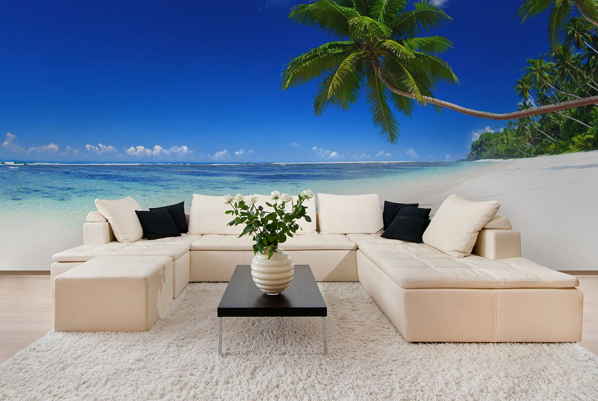 Фотообои PosterMarket Тропикана, размер 254 х 184WM-21Мальдивы - это райские острова и одно из самых красивых мест на нашей планете. Ведь тут всегда тепло, хорошая погода и самые прекрасные бухты на земле.