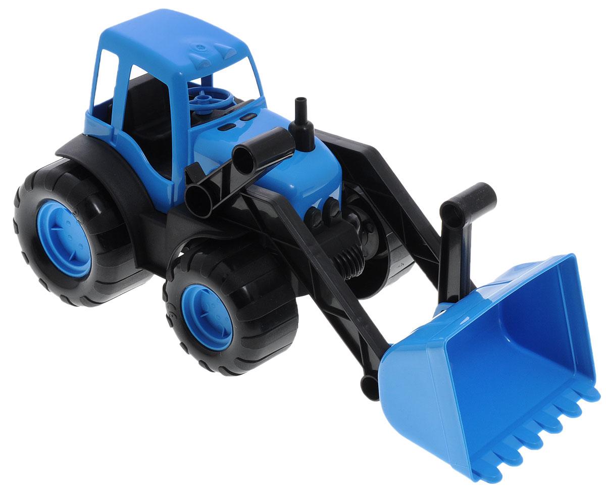 Zebratoys Трактор с ковшом машинки tomy трактор с большими колесами с подсветкой и звуком