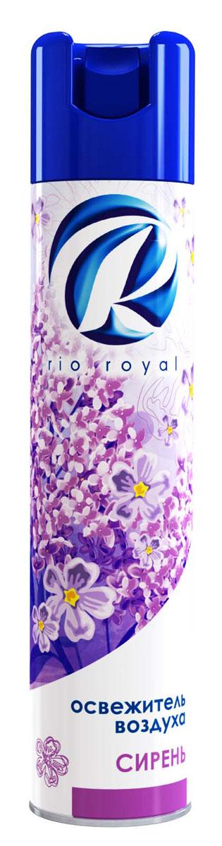 Освежитель воздуха Rio Royal Сирень, 300 мл23756Освежитель воздуха Rio Royal Сирень предназначен для устранения неприятных запахов в различных помещениях. Он надолго наполняет пространство приятным ароматом.Аэрозоль не содержит озоноразрушающих веществ. Товар сертифицирован.
