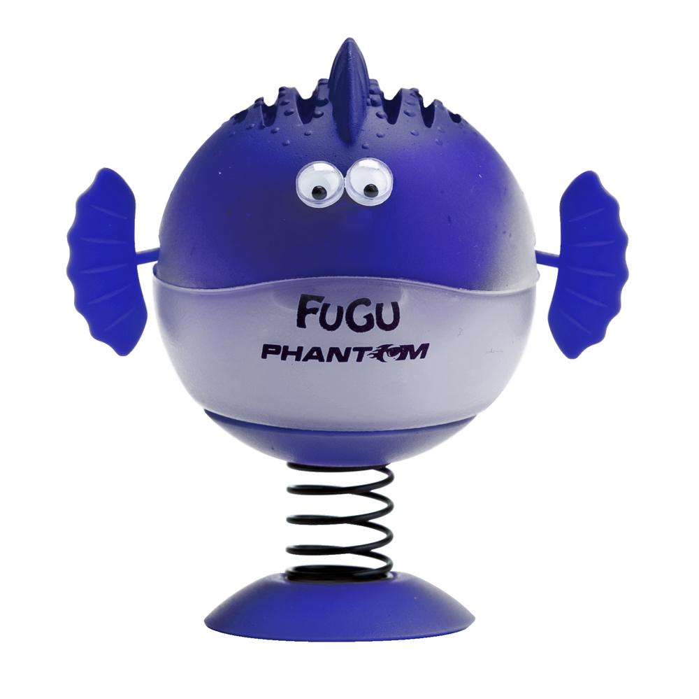 Ароматизатор Fugu Ваниль, цвет: сиреневый3546Ароматизатор Fugu Ваниль выполнен в виде рыбки. Благодаря своей уникальной конструкции (корпус ароматизатора закреплен на основании с помощью пружины), рыбка при движении покачивается из стороны в сторону. Носитель аромата - гелевый картридж - исключает возможность протекания! Обеспечивает длительный и стойкий аромат. Боковые покачивающиеся плавники создадут веселую атмосферу для Вашей поездки! Характеристики: Материал: искусственная кожа, отдушка, полипропилен. Диаметр рыбы: 5 см. Ароматизатор: гелевый картридж. Размер упаковки: 7,5 см х 6,5 см х 9 см. Производитель: США.